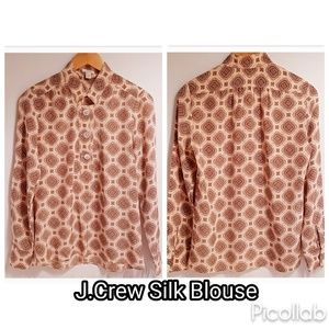 J.Crew Silk Blouse